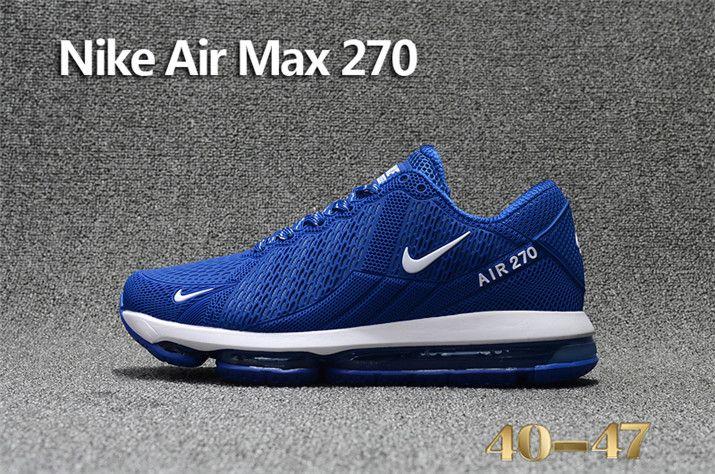 2018 Latest Fashion Nike Air Max 270 KPU Mens Sneakers Deep