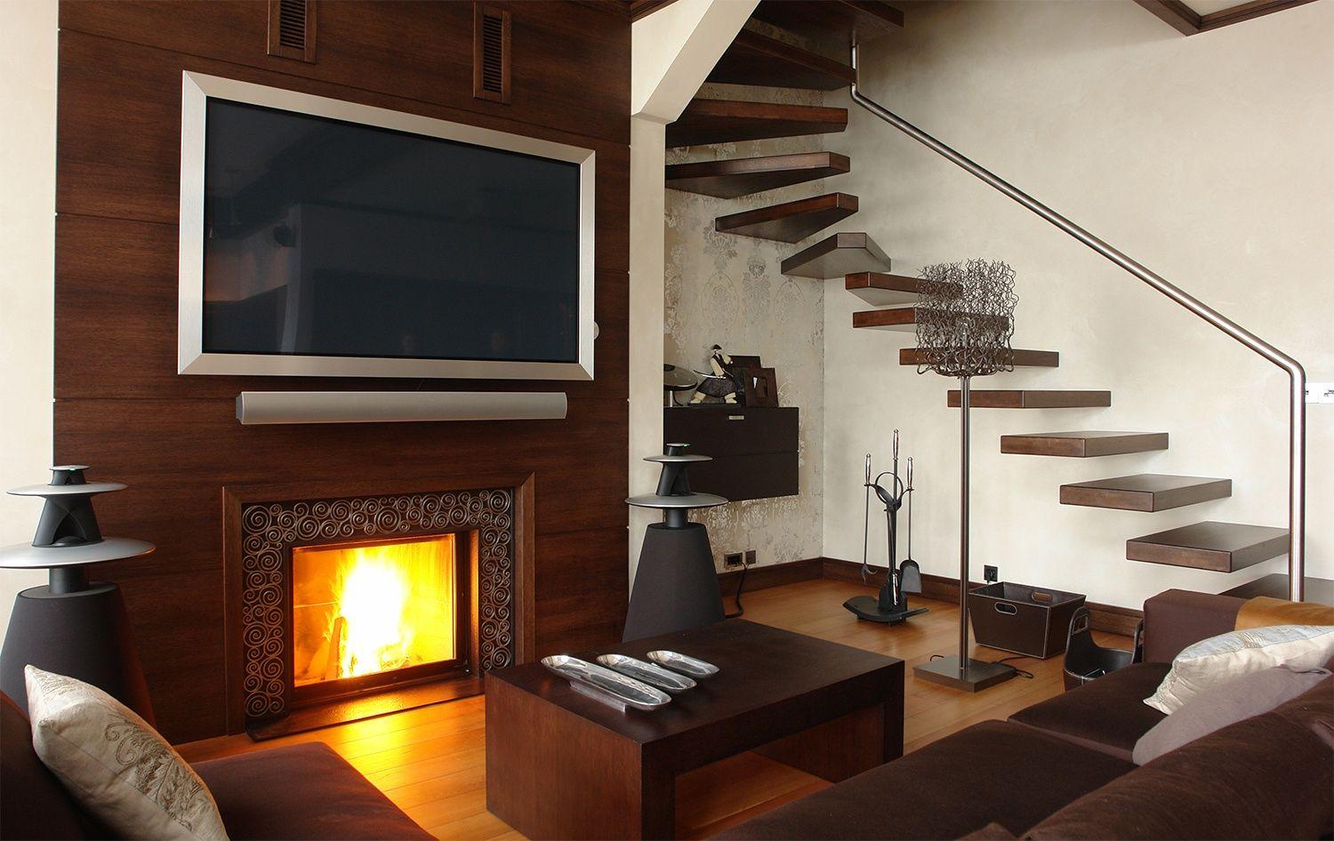 Wohnzimmer Tv ~ Icdn digitaltrends image tv over fireplace