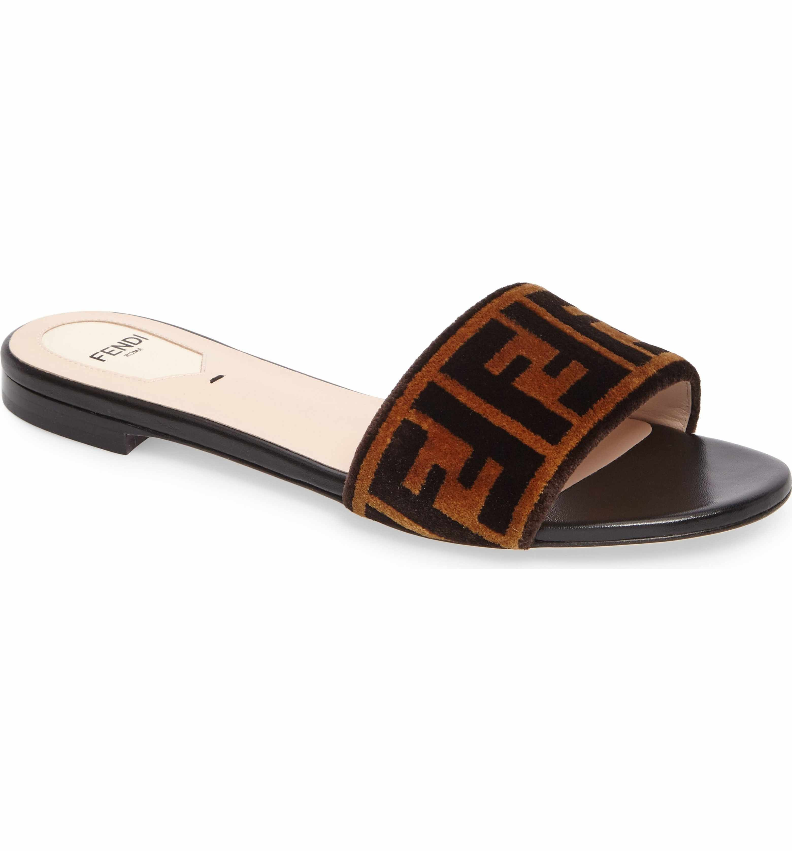 Eastbay Cheap Price 2018 Fendi Velvet Sandals Cheap Pictures Buy Cheap Wide Range Of New Fashion Style Of 2Vkbrj6L