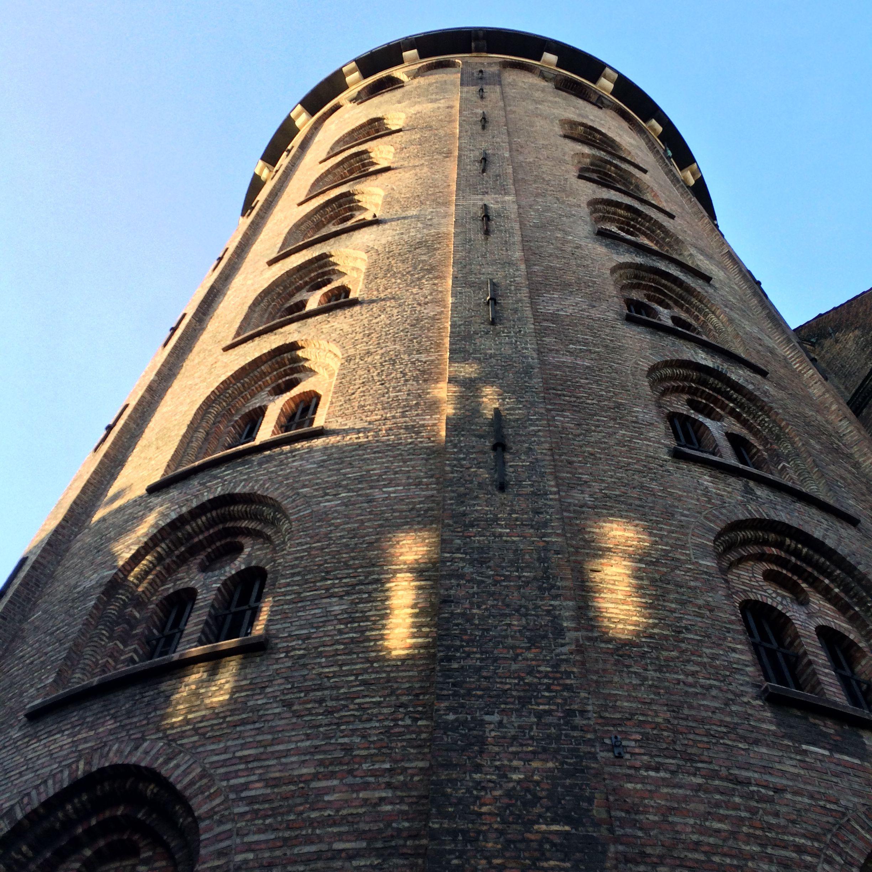 Round Tower - Copenhagen   Round tower, Tower, Leaning ...