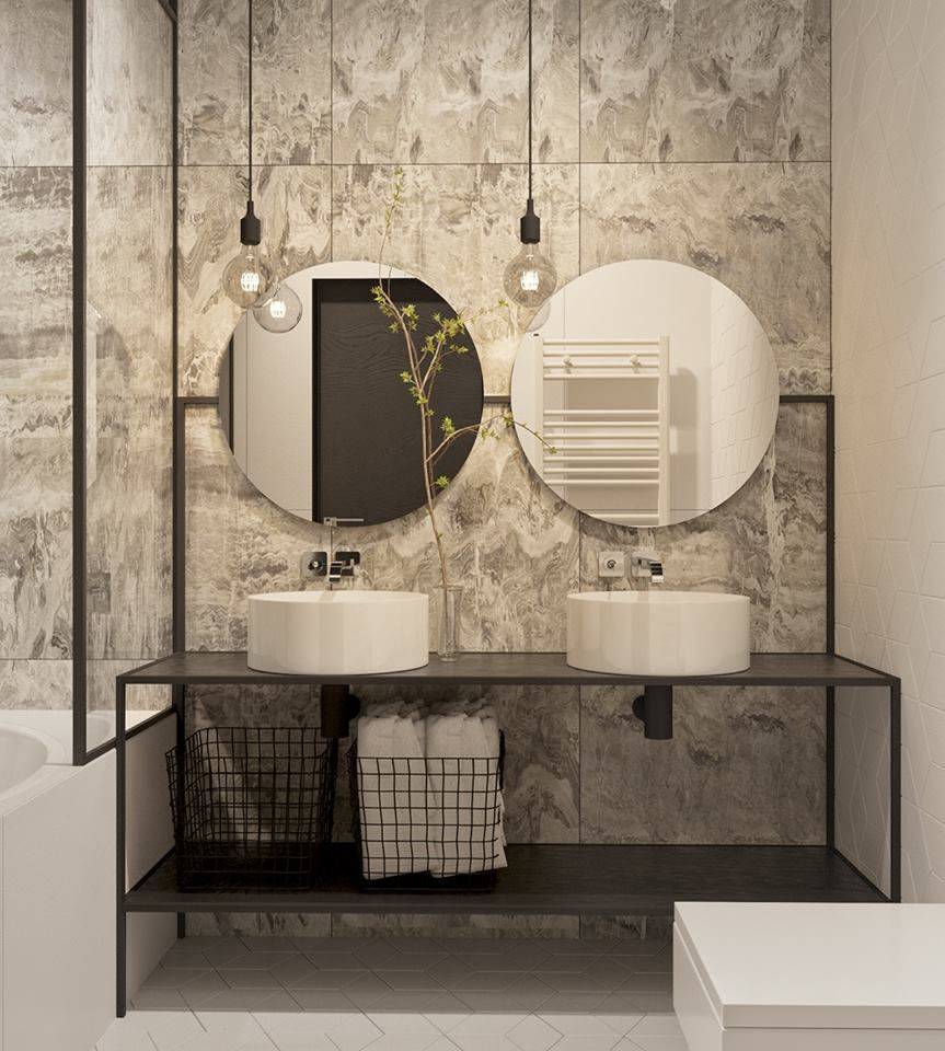 Pin von MR Design Studio auf BATHROOM  Pinterest  Badezimmer Bad