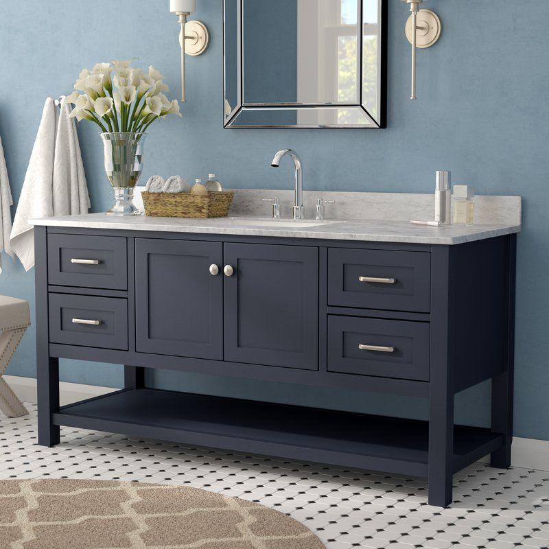 Whiting 60 Single Bathroom Vanity Set 1 259 99 Wayfair Single Bathroom Vanity Bathrooms Remodel Bathroom Furniture