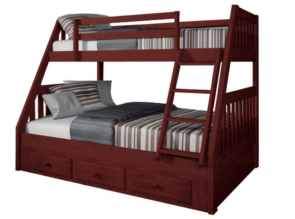 Litera holden madera de pino barnizada en color nogal ingenia muebles varios pinterest - Muebles shena literas ...