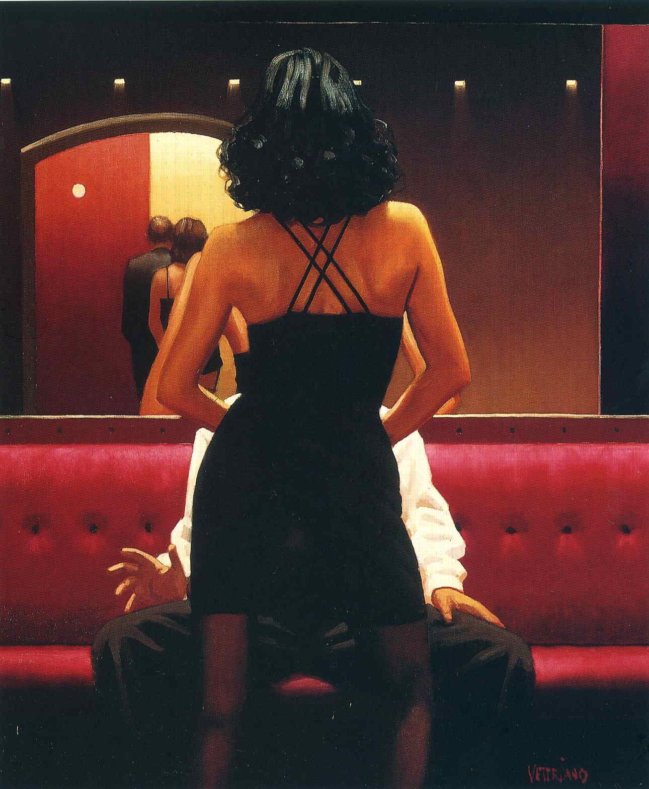 Jack Vettriano - Queen Of The Waltzer