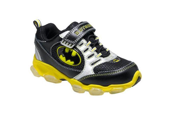 Best Kids Character Shoes Light Up Sneakers Batman Light Sneakers