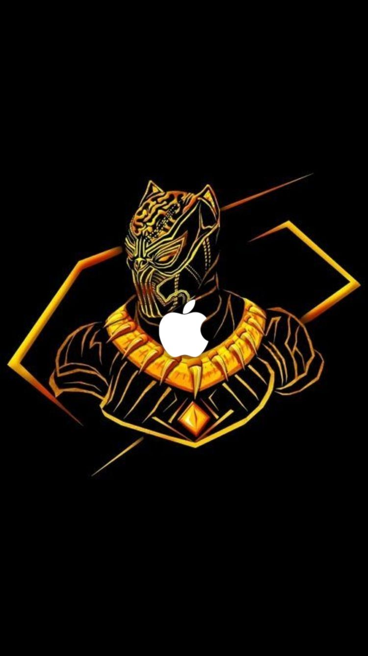 Iphone Wallpapers Black Panther Marvel Avengers Wallpaper Black Panther Art