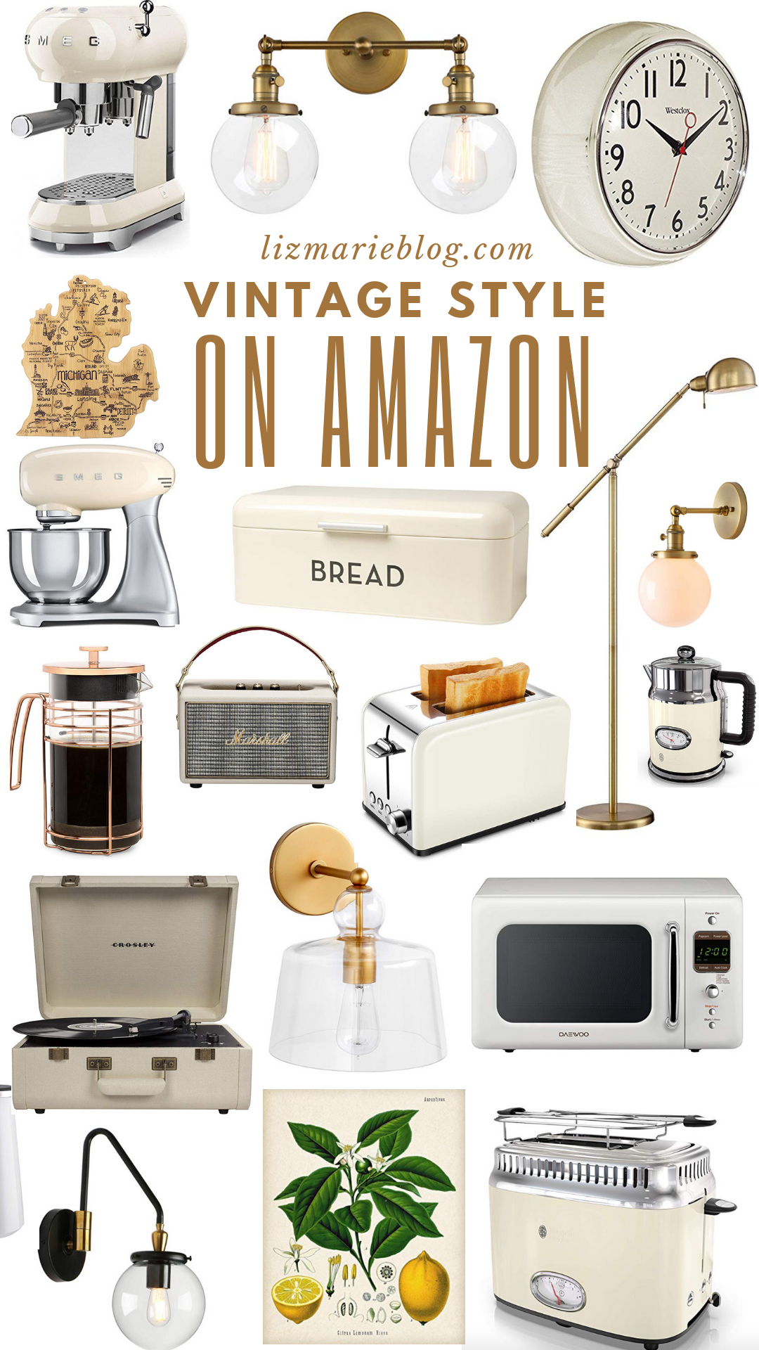 Vintage Inspired Kitchen Finds on Amazon  Amazon home decor
