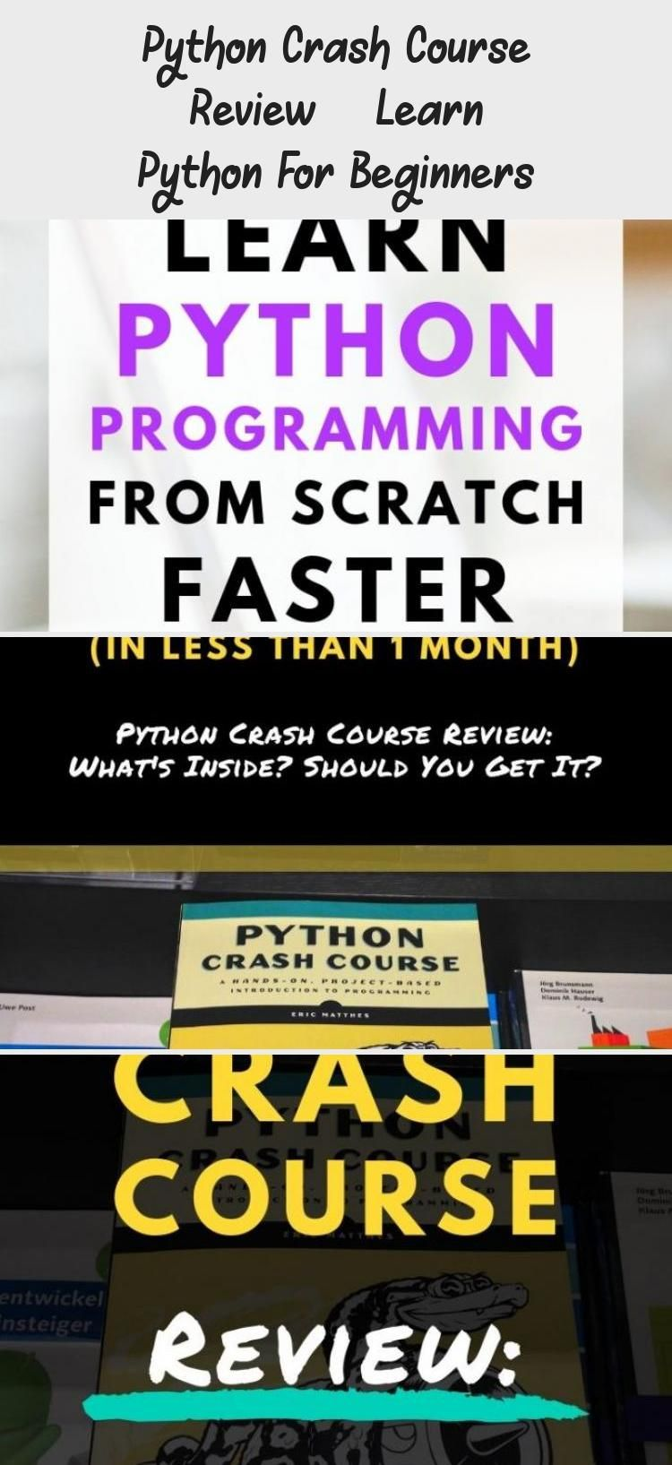 Python Crash Course Review Learn Python For Beginners Technology In 2020 Crash Course Course Review Learn Web Development
