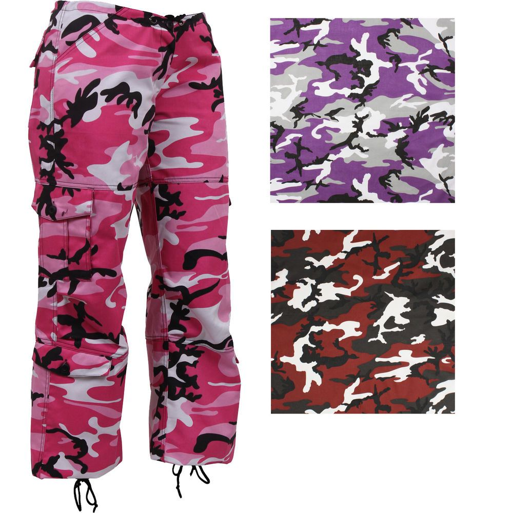 Women s Camo Military Fatigues 79de0a21fa