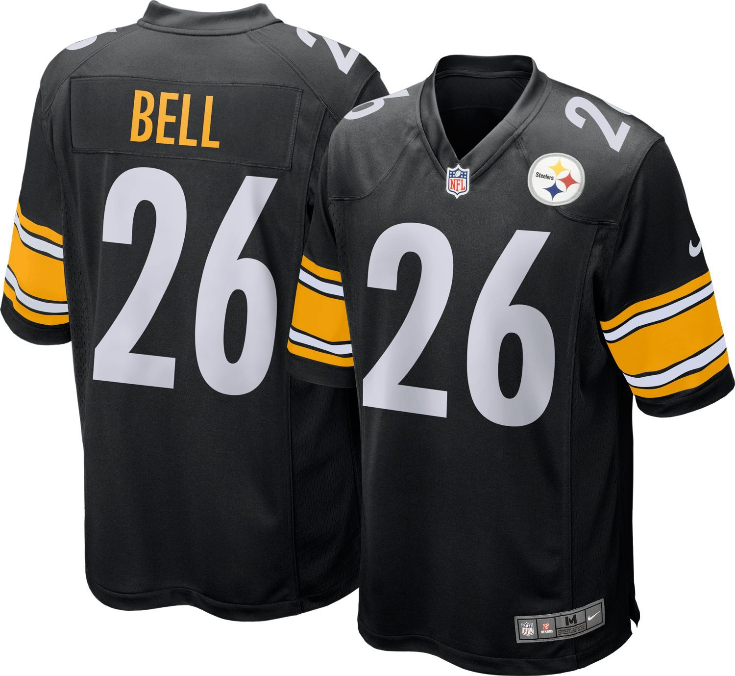 005b3a165cf Nike Youth Home Game Jersey Pittsburgh Le'Veon Bell #26, Kids Unisex, Size:  Medium, Team