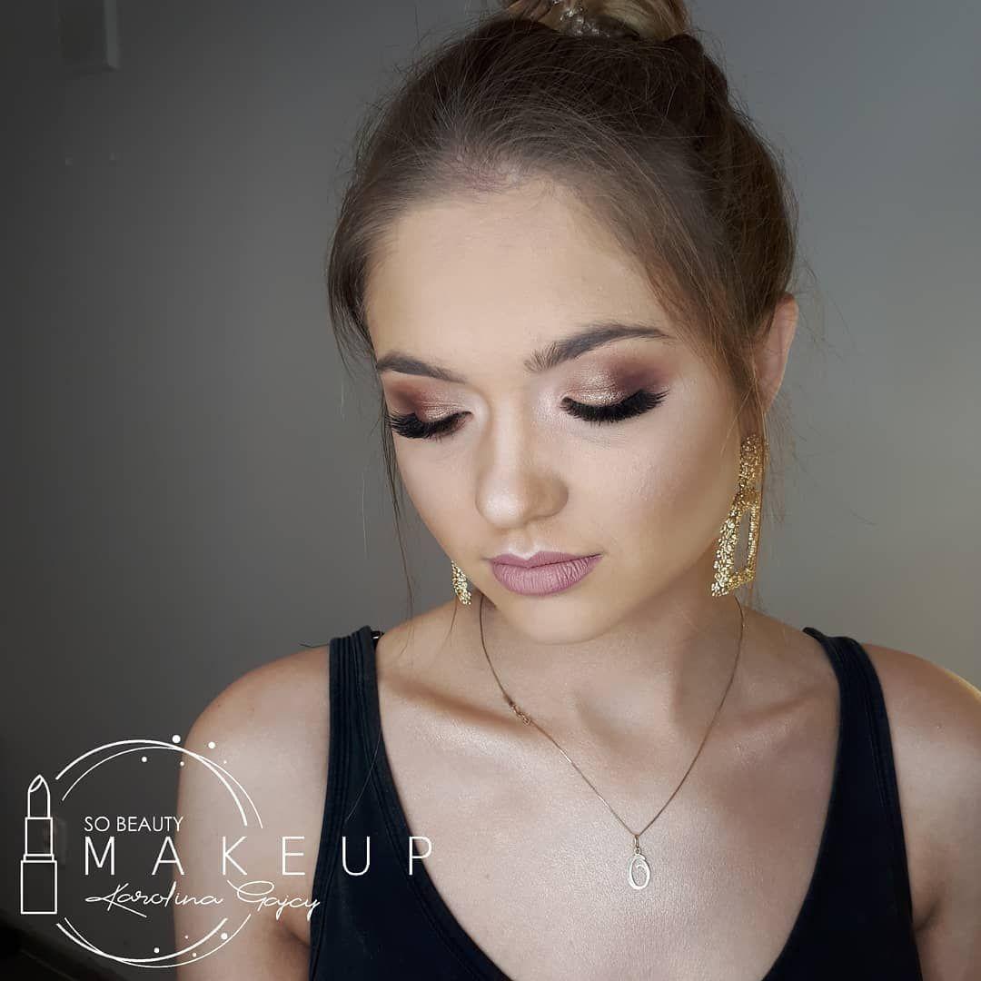 Makeup Me Makeuplook Makeuptransformation Metamorfoza Makeuplover Lashes Redlips Gold Partylook Jessup Glamorous Makeup Makeup Lover Makeup Shop