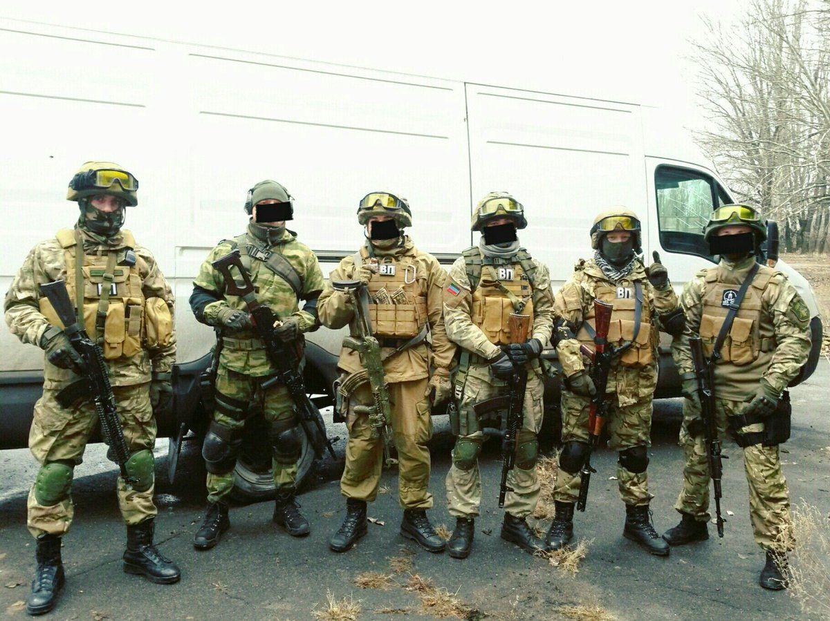 DPR Military Police unit in 2016 DPR