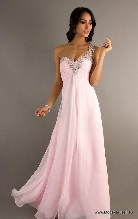 Abendkleider lang in rose