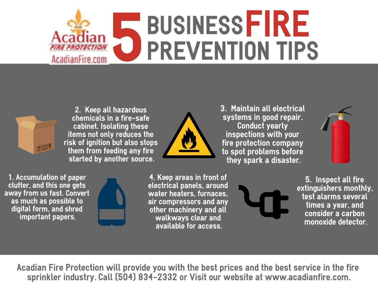 Acadian Fire Protection Inc