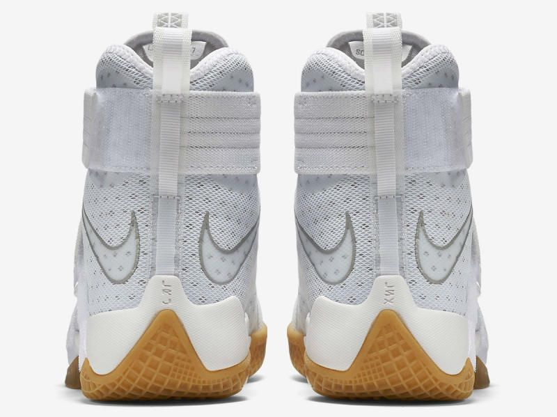 100% authentic 8f5b2 ddf2f Nike LeBron Soldier 10 White Gum