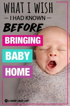 Bringing baby home from the hospital was the craziest shock my husband and I have EVER been through. We thought we had the whole