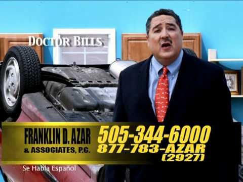 Frank Azar Car Drop Personal Injury Lawyer Commercial 30