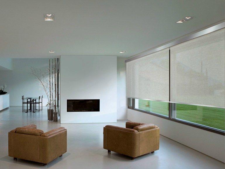 Tende moderne per interni:per soggiorno, camera da letto, cucina e living. Tenda A Rullo Serie 105 By Scaglioni Microcemento Persianas Enrollables Suelos
