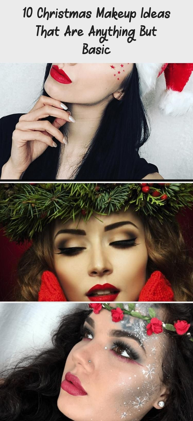 Photo of 10 Christmas Makeup Ideas That Are Anything But Basic – Eye Makeup