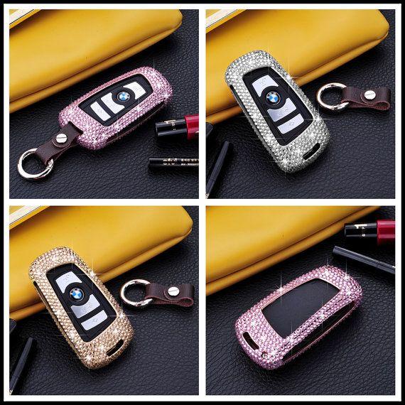 Bling Diamond BMW Keychain Car Key Cover For BMW X4 By