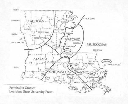 louisiana native american tribes map Native Map Louisiana History Native American Tribes Louisiana louisiana native american tribes map
