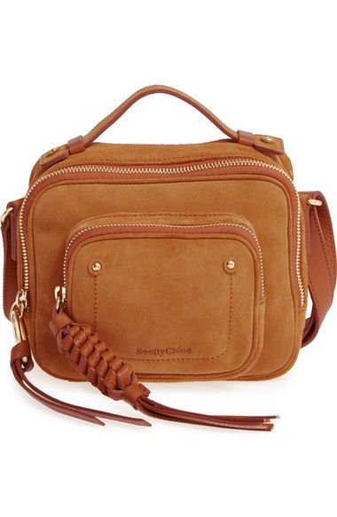 fa4816564144 SEE BY CHLOÉ Patti Suede Crossbody Bag.  seebychloé  bags  shoulder bags   crossbody  suede