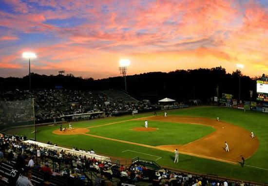 Opening Night Of The New Britain Rock Cats Baseball Season Baseball Season New Britain Baseball
