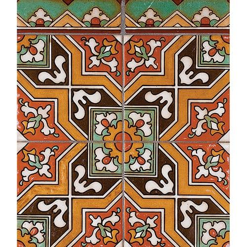 101 Glazed Malibu X Ceramic Tiles 6x6 Country Floors Of America Llc Ceramic Tiles Floor Tile Design Painted Floors
