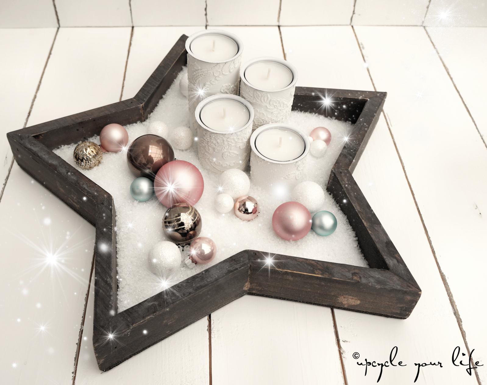 Photo of reciclaje de navidad … velas de adviento hechas de rollos de papel higiénico con papel tapiz …