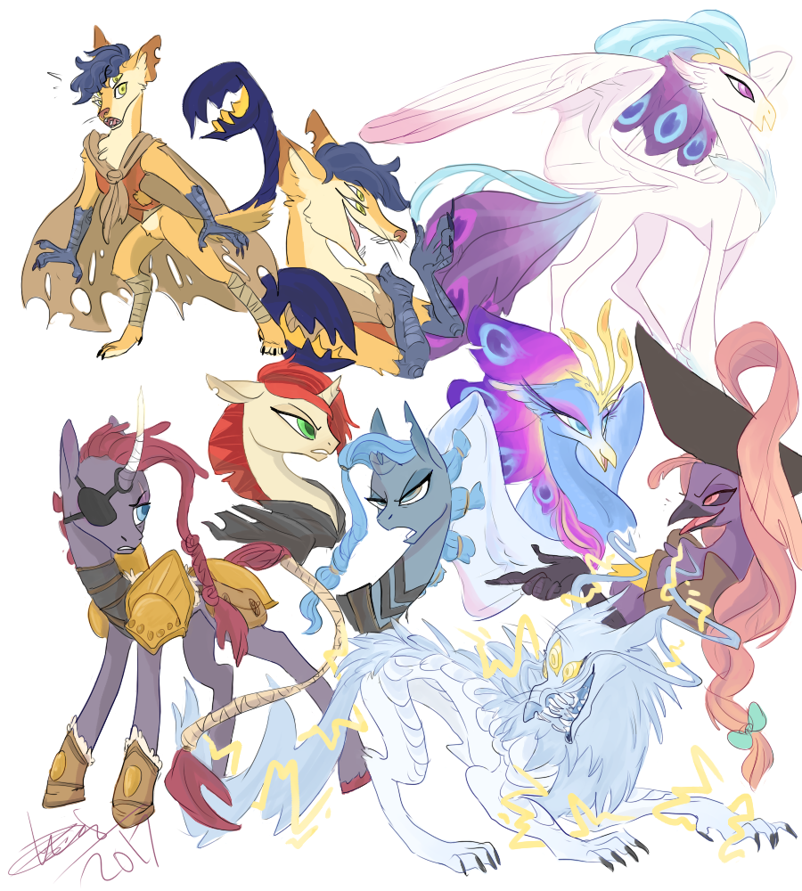 Image Result For Tempest Shadow Conceptart My Little Pony Fandom