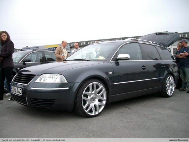 custom b5 passat passat b5 5 with helios wheels vw. Black Bedroom Furniture Sets. Home Design Ideas