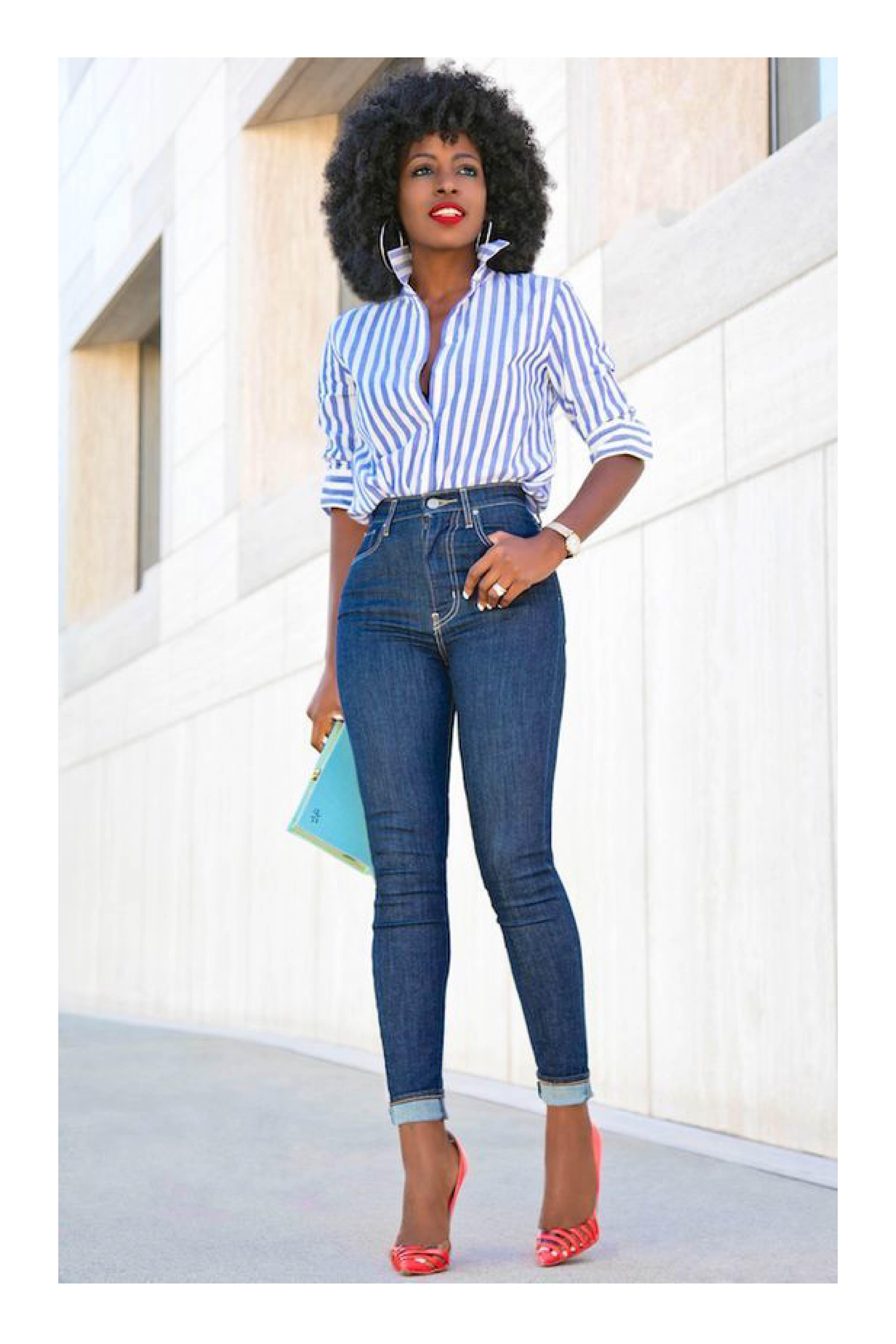 Camisa Jeans Mujer Elegante Casual Modernas Vintage