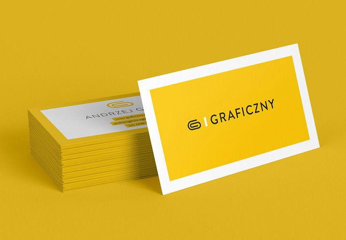 Yellow Business Cards Mockup Business Card Mock Up Free Business Card Mockup Printing Business Cards