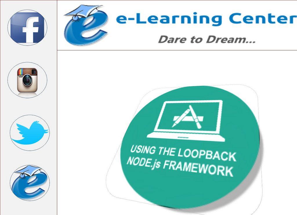 Using The Loopback Nodejs Framework Online Training Online
