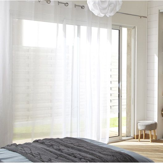 voilage grande fenetre. Black Bedroom Furniture Sets. Home Design Ideas