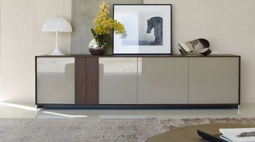 Molteni buffet bas portes coplanaires mobilier pinterest inspiration for Mobilier contemporain luxe