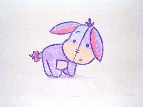 Donkey Disney Pinterest Cute Drawings Disney Drawings And