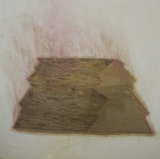 Wang Tzu-Tin /  Wood (2011), acrylic and pencil on canvas