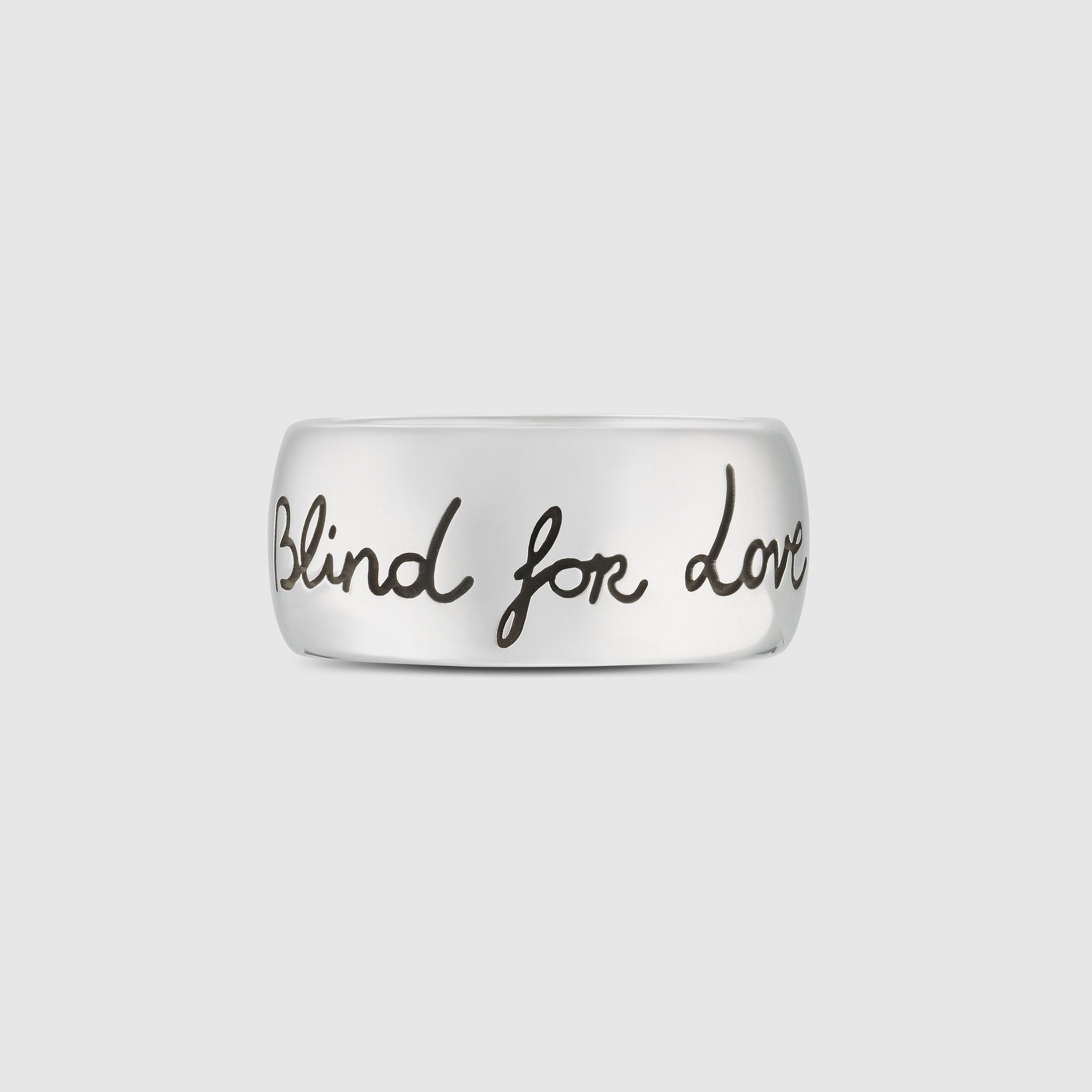 03e9bccdb Blind for Love ring in silver - Gucci Women's Jewelry & Watches  455248J84000701