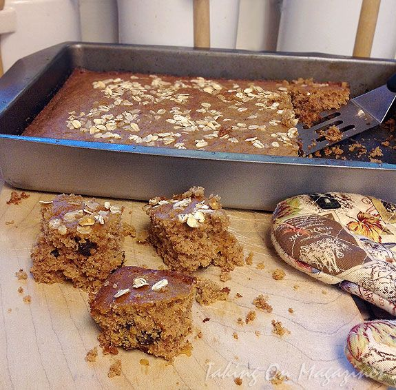 Oatmeal Raisin Cake From The Old Farmer S Almanac Everyday Baking Cookbook Recipe And Cookbooks