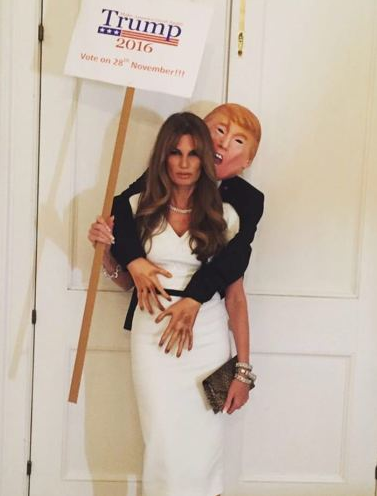 Trump 'Groper' Costume Is The Most Haunting Halloween Outfit Of 2016