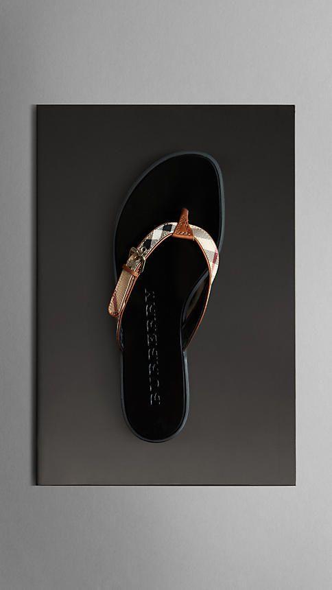 0a97e9e15a6cb Haymarket Check Flip Flops | Burberry Mmmm..I want. | My Style ...