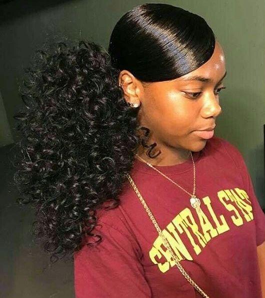 Sleek Ponytail, Slick Hairstyles