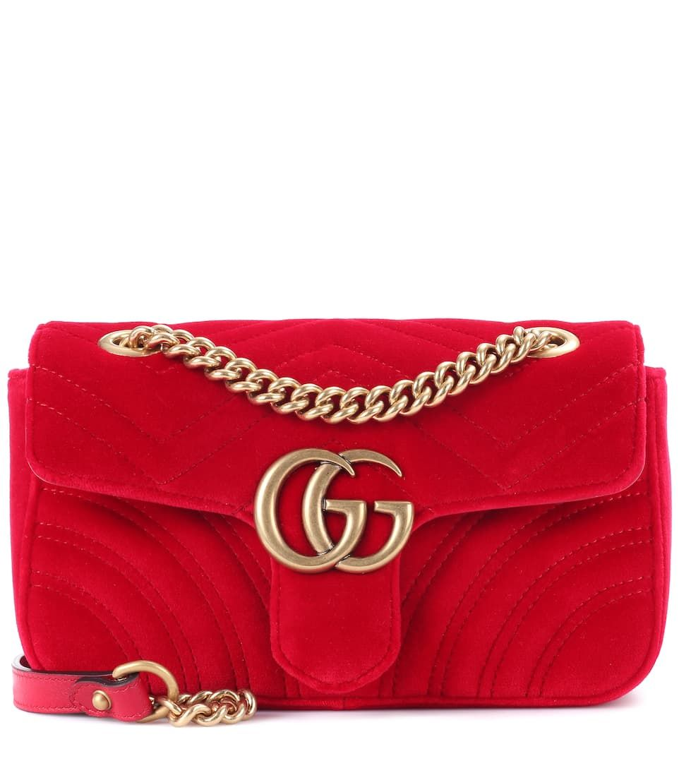 3b29c05c1d8 Gucci GG Marmont Mini shoulder bag in 2019
