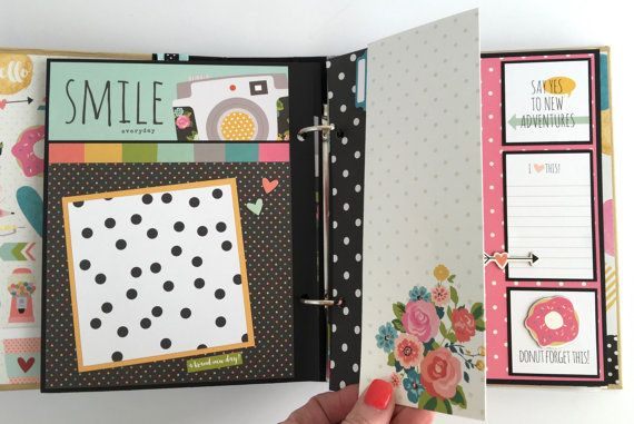 Your Place To Buy And Sell All Things Handmade Scrapbook Album Kits Mini Albums Mini Scrapbook Album