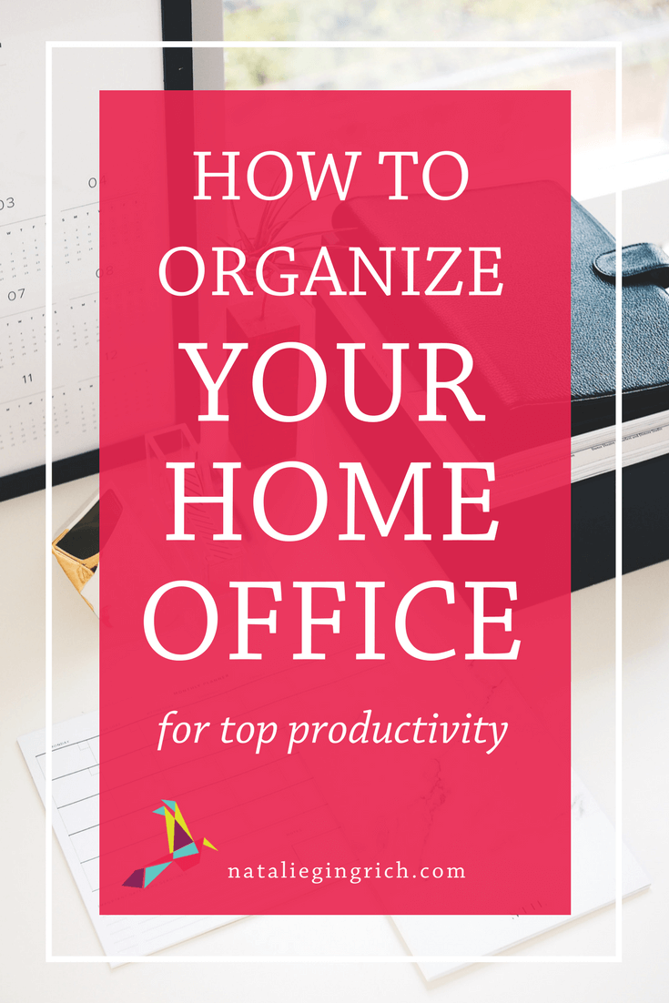 How to Organize Your Home Office for Top Productivity