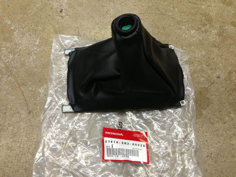 Details About Genuine Oem Honda Civic 92 95 Acura Integra 94 01 Console Shifter Boot Com Imagens