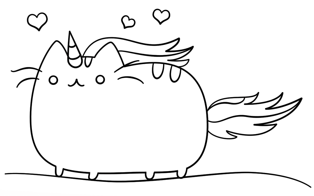 - Unicorn Cat Mermaid Coloring Pages : Pages (With Images) Unicorn Coloring  Pages, Kitty Coloring