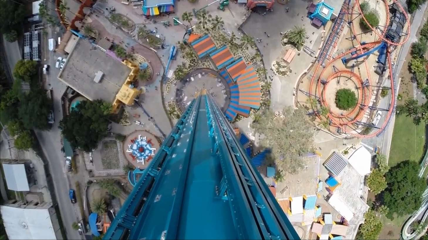 Falcon S Fury World S Tallest Drop Tower Ride To Open Soon At Busch Gardens Tampa Florida Can T Busch Gardens Tampa Busch Gardens Busch Gardens Tampa Bay