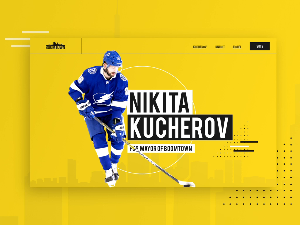 An Interactive Microsite For Bauer Hockey